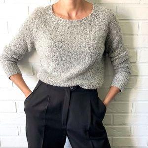 REVOLVE Kingsley grey mohair blend sweater S